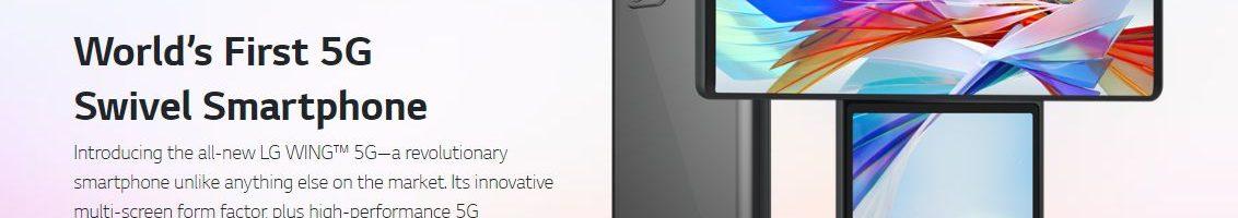 LG Wing ufficiale: lo smartphone con display rotante e Gimbal Motion Camera