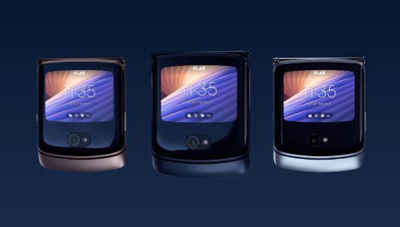 MOTOROLA RAZR 5G Display chiuso Darth News Side Alexa Reviews