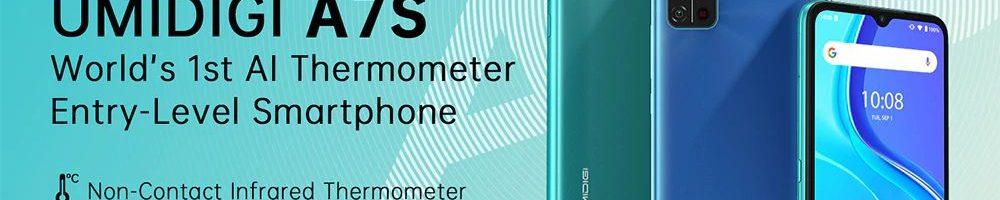 UMIDIGI A7S: il primo smartphone con termometro a infrarossi