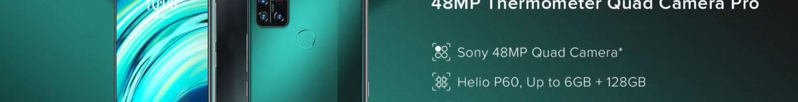UMIDIGI A9 Pro: lo smartphone con termometro ad infrarossi (Giveaway)