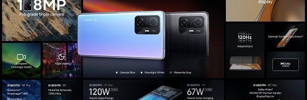 Xiaomi 11T e Xiaomi 11T Pro ufficiali: caratteristiche e prezzi