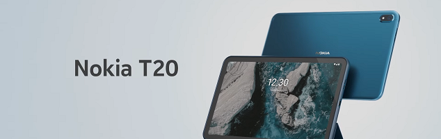 Nokia T20 ufficiale: la qualità Nokia arriva sui tablet