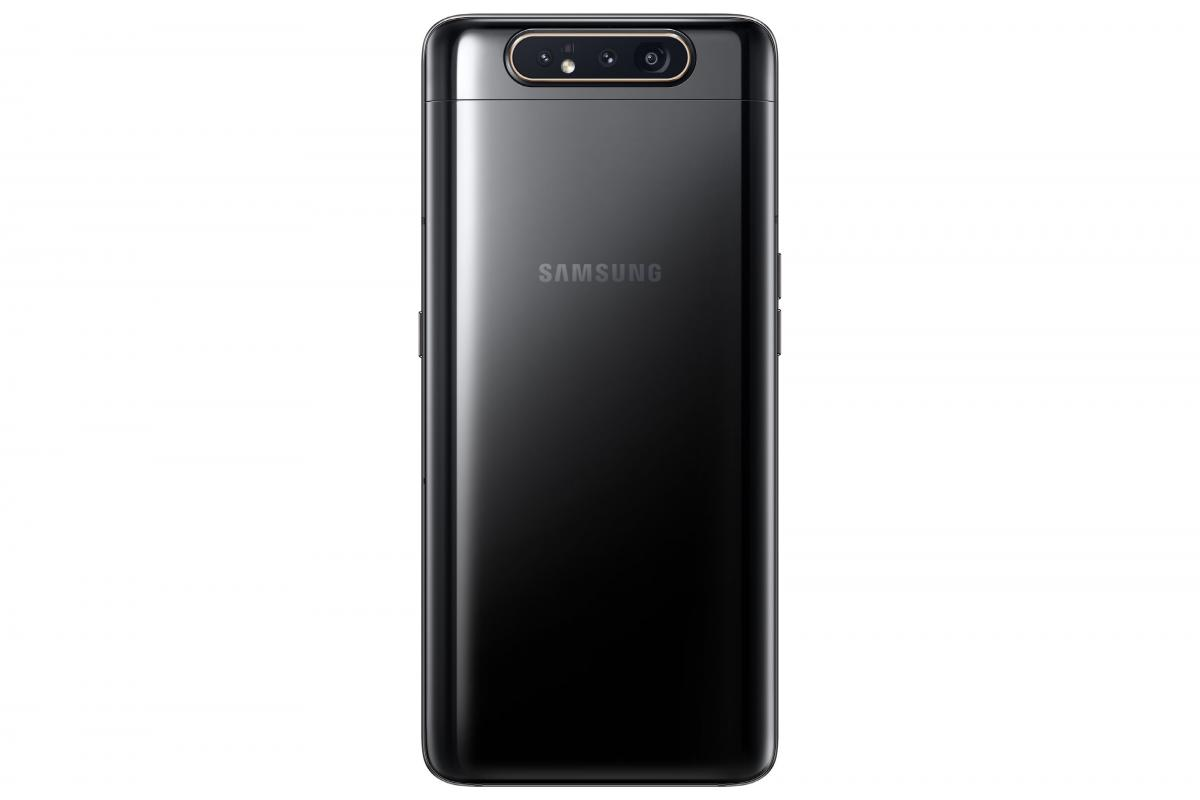 1 - Galaxy A80 Phantom-Black Back