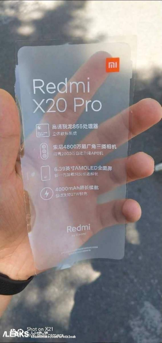 1 - Redmi K20 Pro - Darth News Side