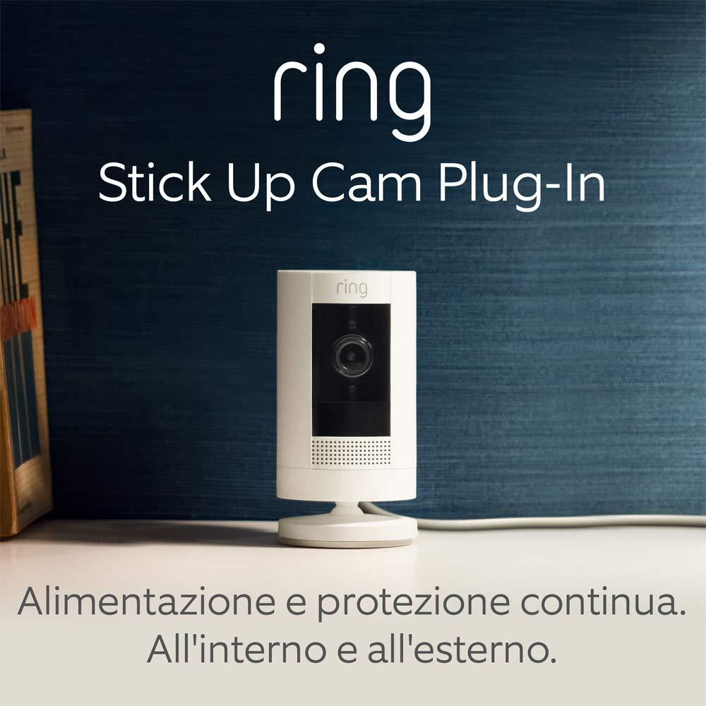 1 - Ring Stick Up Cam Plug-In