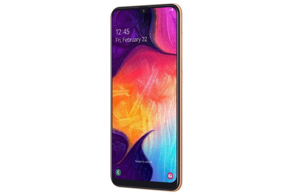 Samsung Galaxy A50 fronte