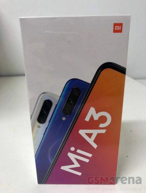 2 - Xiaomi Mi A3 la confezione di vendita svela le caratteristiche tecniche
