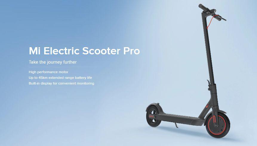 1 - Xiaomi Mi Electric Scooter Pro